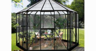 Gewächshaus Glas