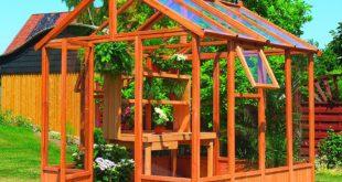 Gewächshaus Holz